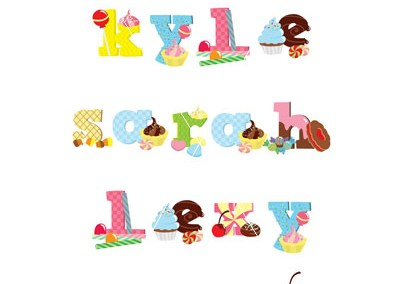 candy-alphabet-names