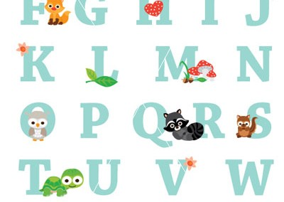 forest-animal-alphabet-only-print