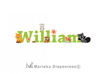 forest-animal-william-name-print
