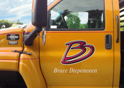 Brand Identity BD-Truck Decal